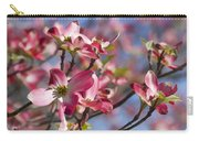 Tickled Pink Dogwood Carry-all Pouch