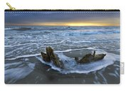 Tides At Driftwood Beach Carry-all Pouch