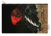 Tidying Up - Magellanic Woodpecker Preening Carry-all Pouch