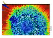 tiedyed Sunflower Carry-all Pouch