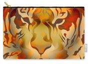 Tiger Illustration Carry-all Pouch