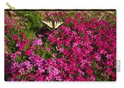 Tiger In The Phlox 6 Carry-all Pouch