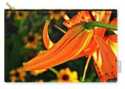 Tiger Lily Bud And Bloom Carry-all Pouch