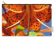 Tiger Lily Close Up Carry-all Pouch