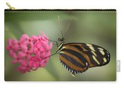Tiger Longwing On Flower Carry-all Pouch