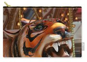 Tiger Merry Go Round Animal Carry-all Pouch