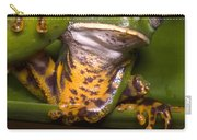 Tiger-stripe Monkey Frog Carry-all Pouch