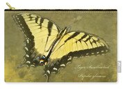 Tiger Swallowtail Butterfly - Papilio Glaucas Carry-all Pouch
