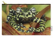 Tigers Treefrog Hyloscirtus Tigrinus Carry-all Pouch