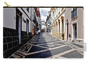 Tiled Street Of Ponta Delgada Carry-all Pouch