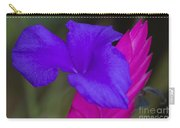 Tillandsia Cyanea Carry-all Pouch by Heiko Koehrer-Wagner