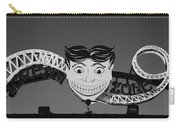 Tillie's Scream Zone In Black And White Carry-all Pouch