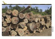 Timber At A Logging Area, Danum Valley Carry-all Pouch