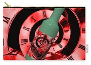 Time In A Bottle Red Carry-all Pouch