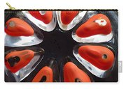 Orange And Black Art -time - Sharon Cummings Carry-all Pouch