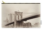 Timeless-brooklyn Bridge Carry-all Pouch