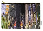 Times Square Abstract Carry-all Pouch
