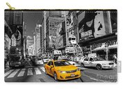 Times Square Taxi  Carry-all Pouch