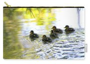 Tiny Baby Ducks Carry-all Pouch