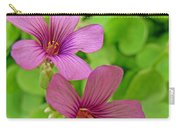 Tiny Flowers In The Clover Carry-all Pouch