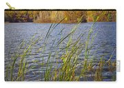 Tiny Island On Hall Lake No 0086 Carry-all Pouch