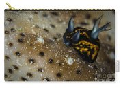 Tiny Nudibranch On Sea Cucumber Carry-all Pouch
