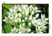 Tiny White Flowers Carry-all Pouch