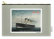 Titanic Memorial Stamp Carry-all Pouch