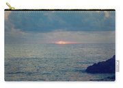 To The Ends Of The Earth Carry-all Pouch by Laurie Search