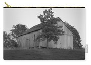Tobacco Barn II In Black And White Carry-all Pouch