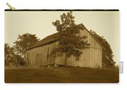 Tobacco Barn II In Sepia Carry-all Pouch