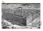 Tobacco Factory, 1876 Carry-all Pouch by Granger