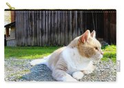 Toby Old Mill Cat Carry-all Pouch by Sandi OReilly
