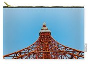 Tokyo Tower Faces Blue Sky Carry-all Pouch