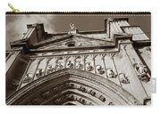 Toledo Cathedral Entrance In Sepia Carry-all Pouch