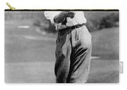 Tom Armour Wins Us Golf Title - C 1927 Carry-all Pouch