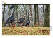 Tom Turkeys All In A Row 1 Carry-all Pouch