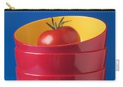 Tomato In Stacked Bowls Carry-all Pouch by Garry Gay