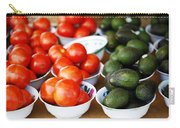 Tomato Y Avacado Carry-all Pouch