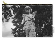 Tombstone Angel Bw Carry-all Pouch