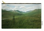 Tombstone Mountain Carry-all Pouch by Priska Wettstein