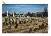 Tombstones Carry-all Pouch by Paul Ward