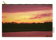 Tomoka River Sunset Carry-all Pouch
