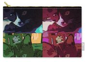 Toonces In Quad Carry-all Pouch