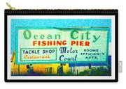 Topsail Island Old Sign Carry-all Pouch