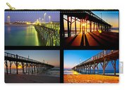 Topsail Piers At Sunrise Carry-all Pouch