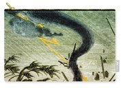 Tornado, 19th Century Carry-all Pouch