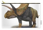 Torosaurus Latus, A Prehistoric Era Carry-all Pouch