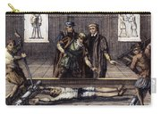 Torture, 16th Century Carry-all Pouch