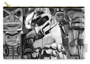 Totem Poles On Vancouver Island Carry-all Pouch